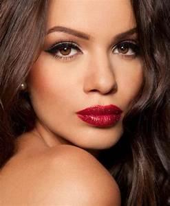 Make Up Ideen : die besten 25 make up rote lippen ideen auf pinterest ~ Buech-reservation.com Haus und Dekorationen