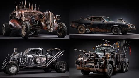 Stunning Photos Of The Badass Cars Of Mad Max
