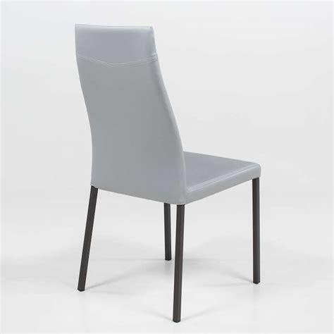 chaises de séjour chaise de séjour contemporaine en synthétique lena 4