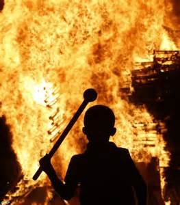 How To Light A Bonfire by Fire Brigade Called Out Once Every 77 Seconds After