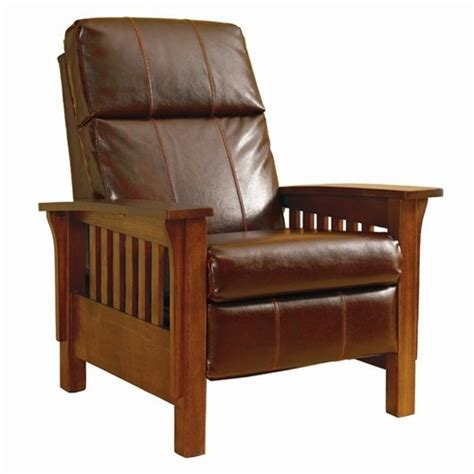ethan allen mission recliner chair hi leg recliners mission montana hileg recliner by