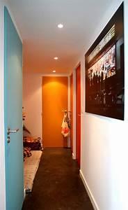 quelle couleur peindre les portes maison design bahbecom With delightful quelle couleur de peinture pour un couloir 16 avis couleur deco salon