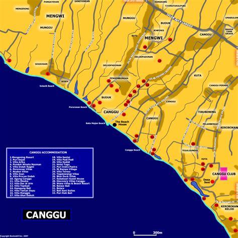 map  canggu bali blog