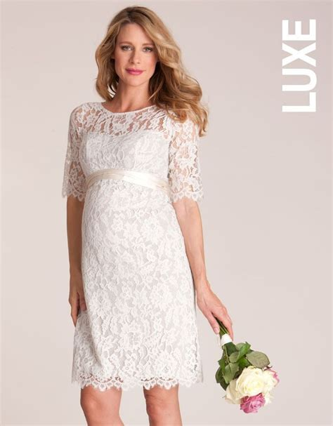 Lace Maternity Dresses For Baby Shower by Lace Maternity Dress Cream Harper S Baby Shower Pinterest