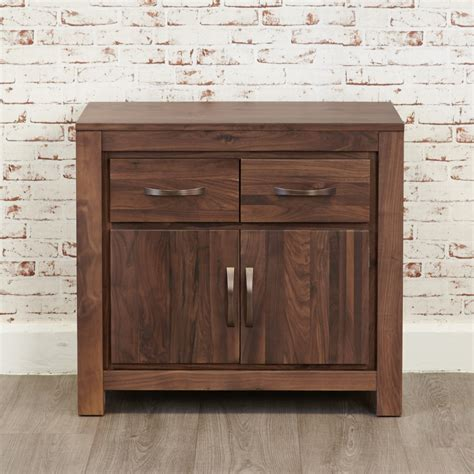 Sideboards Uk by Baumhaus Mayan Walnut Small Sideboard Cwc02c