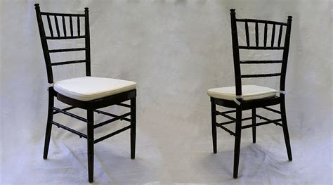chiavari chair with ivory cushion rental iowa city