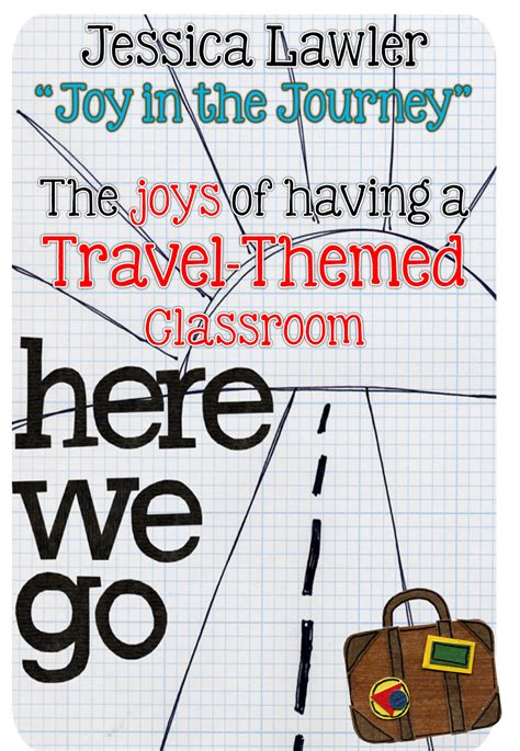 A Travelthemed Classroom  Joy In The Journey