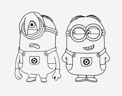 Colouring Minions Clipart Coloring Pages Sheets Children