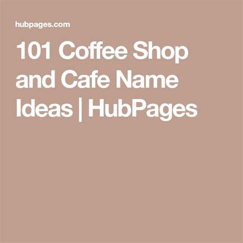 They need a great name. The 25+ best Coffee shop names ideas on Pinterest | Cafe design, Coffee shop design and Cafe plants