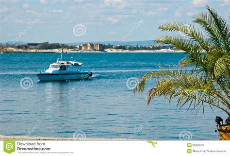 small sea vew of harbor stock image image of beach panoramic 55349419
