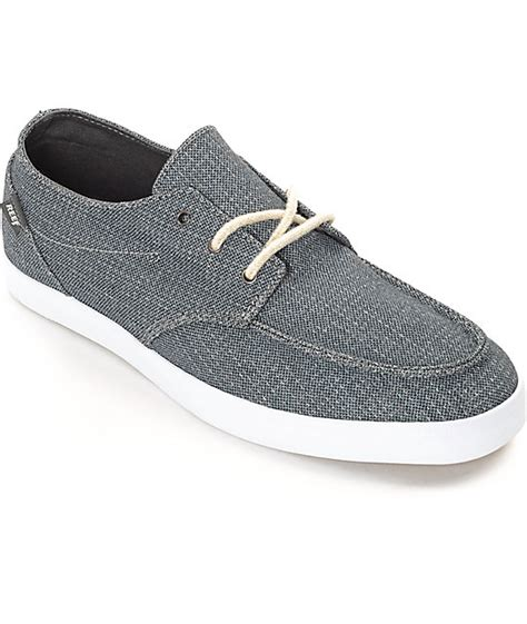 Reef Deck 2 Tx by Reef Deck 2 Tx Charcoal White Shoes