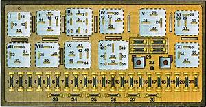 Audi 90  B3   1986 - 1991  - Fuse Box Diagram