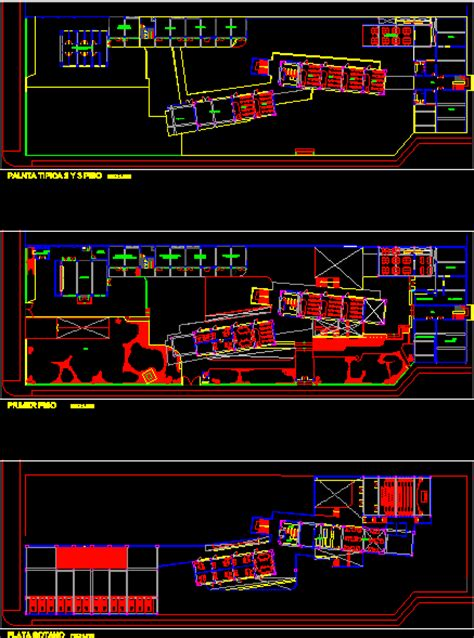 architecture school plans en autocad descargar cad