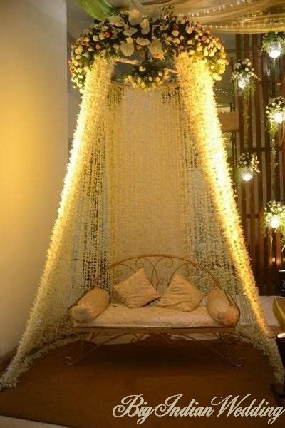 colorful traditional  indian wedding stage decor ideas