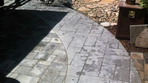 installing patio pavers concrete slab filecloudaccount