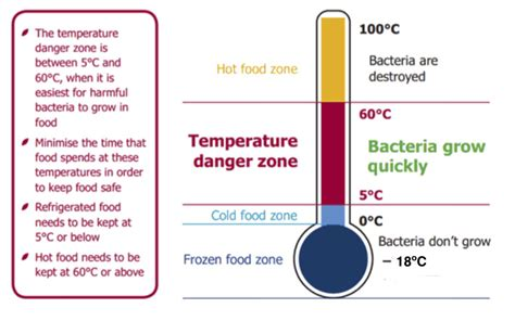 The danger zone - food safety matters
