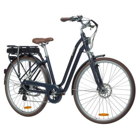 fahrrad tiefer einstieg e bike elops 900 tiefer einstieg b decathlon
