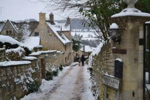Winter Cotswolds England