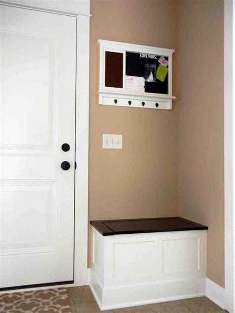 small storage bench  entryway home furniture design
