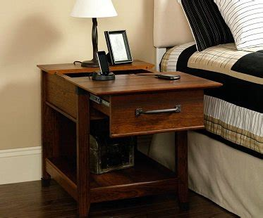 sofa table charging station charging station end table
