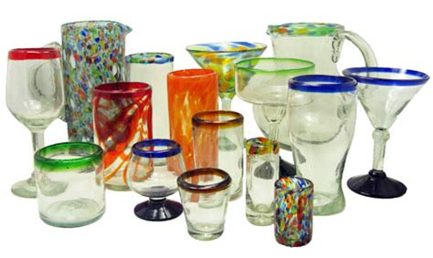 Mexican Hand Blown Glass For Your Bar