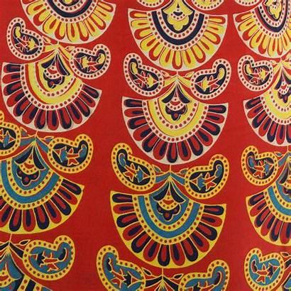 Bohemian Fabric Boho Hippie Mandala Block Maxi