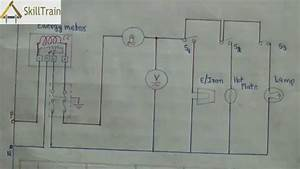Diagammatic Representation Of Simple House Wiring  Hindi    U0939 U093f U0928 U094d U0926 U0940