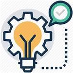 Idea Management Icon Icons Innovative Strategy Marketing