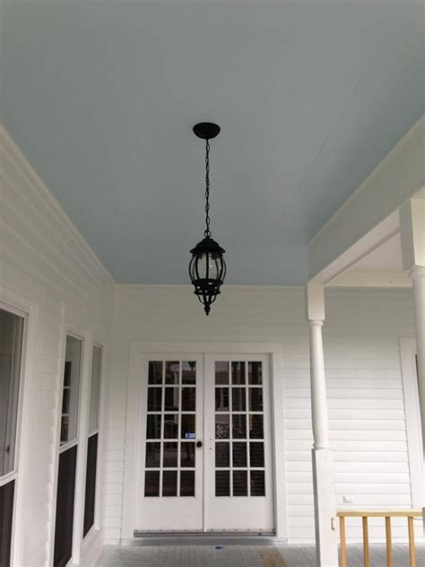 my blue porch ceiling the color is atmospheric from