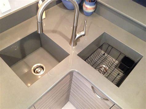 kitchen countertop with built in sink integrated silestone quartz countertop sink kitchen 9316