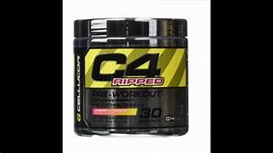 Cellucor C4 Pre Workout Supplements With Creatine  Nitric Oxide  Beta Alanine And Energy  30