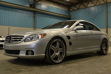 The new cl 600 accelerates from 0 to 100 km/h in just 4.6 seconds (previous model: 2007 Mercedes-Benz CL600 Lorinser Twin Turbo V12 for sale #98992   MCG