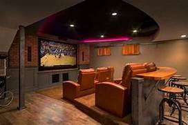 Basement Design Ideas Designing Any Room Can Be Tough But Designed Bar Adds To The Appeal Of The Basement Home Theater Design