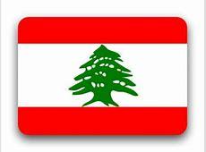 Drapeau Liban, superficie, population