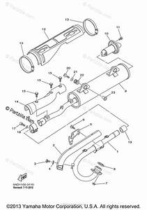 Yamaha Atv 2003 Oem Parts Diagram For Exhaust