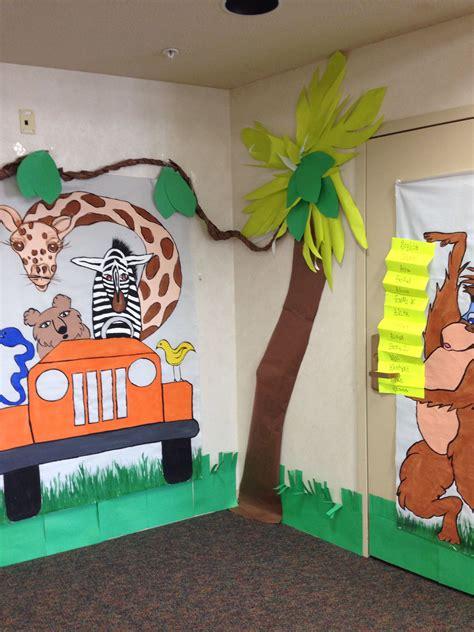 jungle theme classroom decor kiddos jungle theme