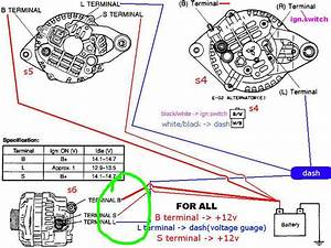 1994 Mazda Alternator Wiring Diagram