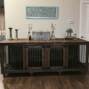 17 best ideas about indoor dog kennels on pinterest for Xl dog crate furniture