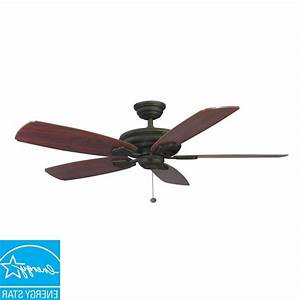 Hampton bay ceiling fans metro in indoor outdoor rustic copper fan inside appealing