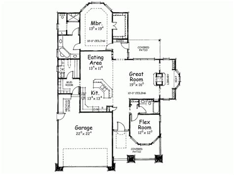Craftsman Style House Plan 2 Beds 2 Baths 1778 Sq/Ft