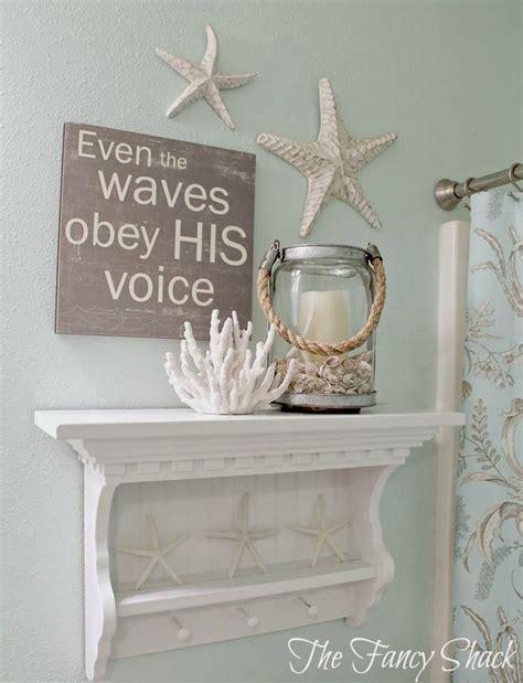 cute decor details  nautical bathroom style motivation