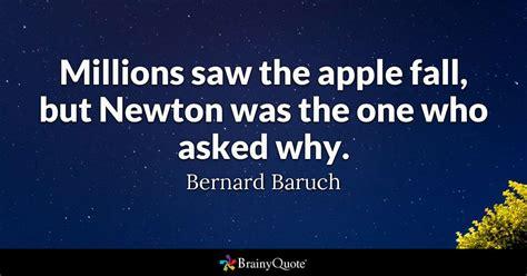 millions   apple fall  newton