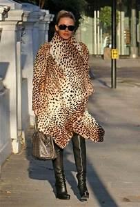 Style Watch Celebrities Wearing Animal Prints Fab