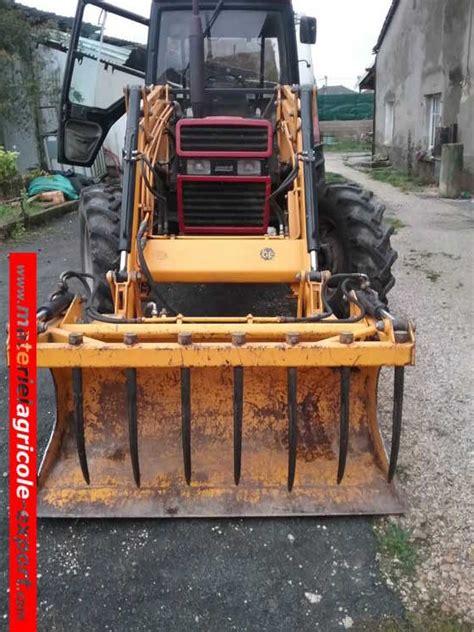 siege tracteur occasion vendu ih 745 xl avec chargeur tenias tracteur