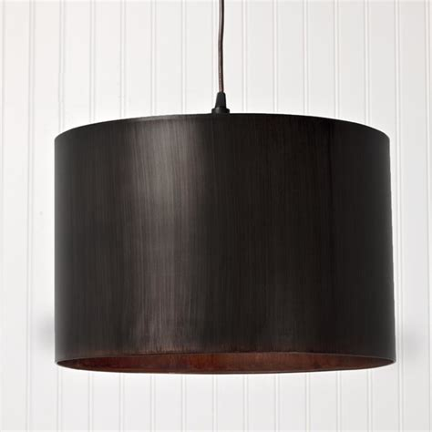 metal drum shade pendant light l shades by shades