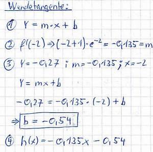 Erste Ableitung Berechnen : wendetangente berechnen ~ Themetempest.com Abrechnung