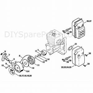 Stihl Br 420 Backpack Blower  Br 420  Parts Diagram