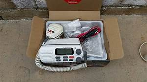 Sold   25 Standard Horizon Vhf And Free 8ft Antenna