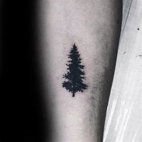 simple tree tattoo designs  men forest ink ideas