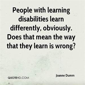 Quotes About Le... Learning Difficulty Quotes